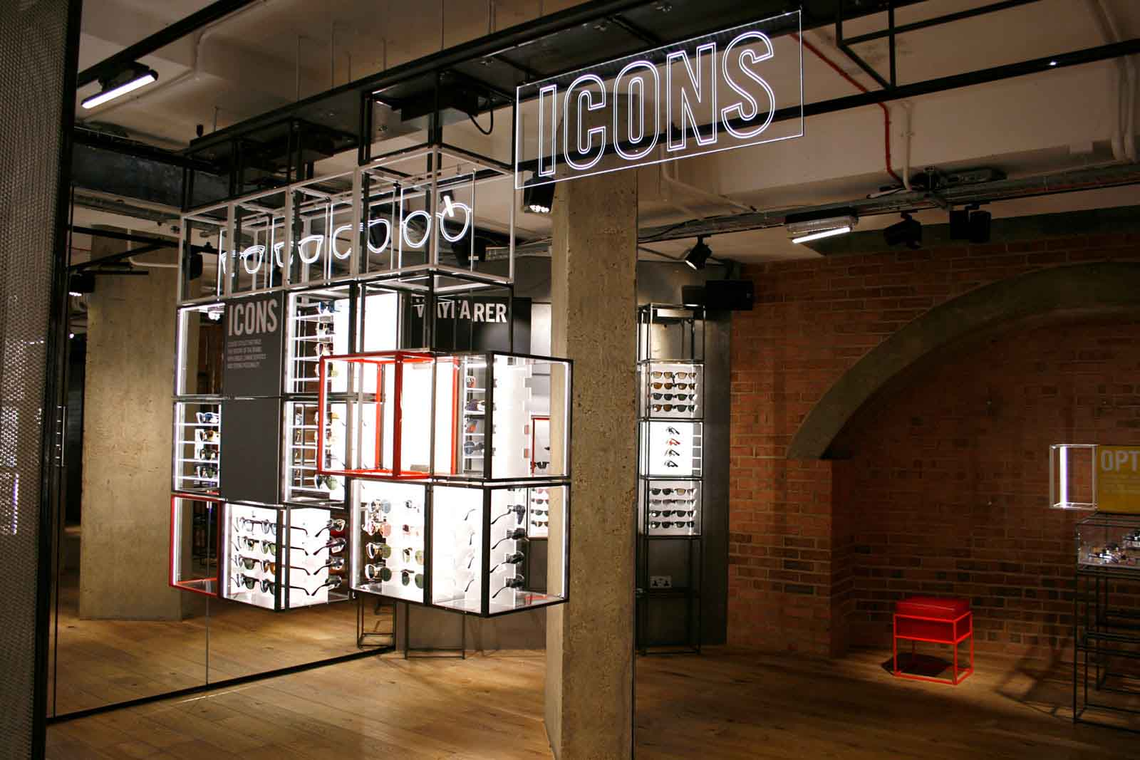 Ray-Ban Concept Store